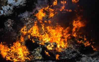 Pożar wlakierni wWieluniu